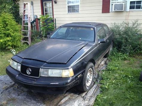 Buy Used 1988 Mercury Cougar Xr-7 In Coatesville, Indiana