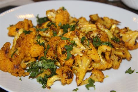 Indian Spiced Roasted Cauliflower Recipe