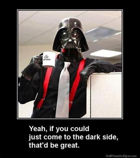 Meme Darth Vader - star wars memes office space meme star wars meme office cooler dark side darth vader star