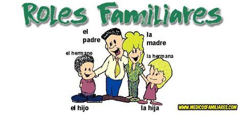 El Rol en la Familia: Roles Familiares Roles familiares