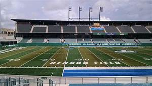 Tulane Stadium Seating Chart Yulman Stadium Section 120 Rateyourseats Com