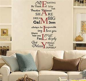 family words wall decals trading phrases With word decals for walls ideas
