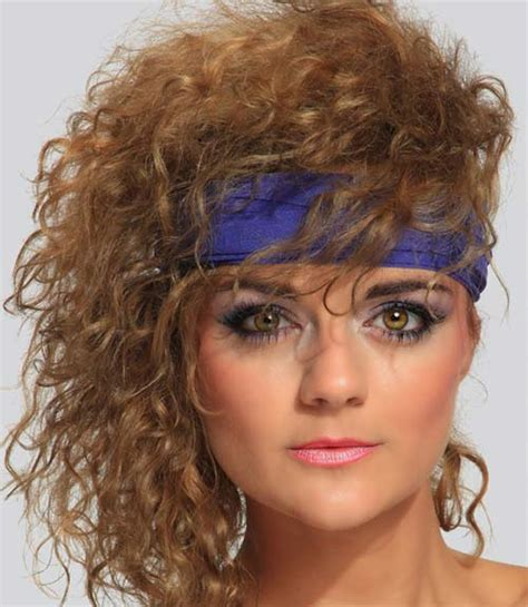Easy 80s Hairstyles by 30 Rad 80s Hairdos You Need To Remember