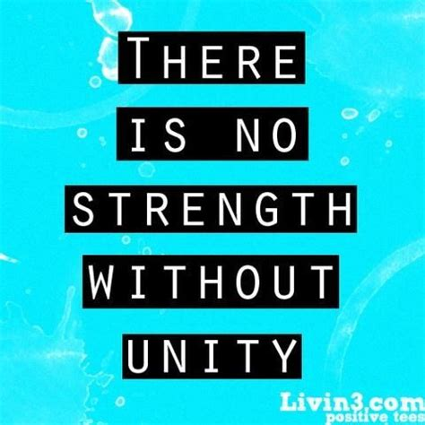 Quotes About Strength in Unity