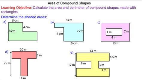 Area Of Compound Shapes Mrmathematicscom