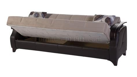 trento nepal light brown sofa bed  sunset woptions