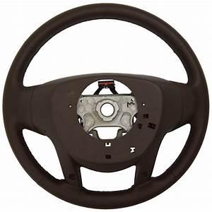 2014 Cadillac Srx Steering Wheel Brownstone Leather New Oem W  Cc Audio 23187000