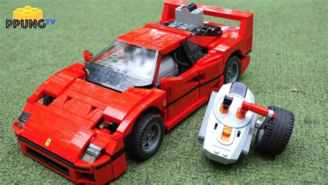 lego f40 lego 10248 f40 rc motorized f40 review by 뿡대디
