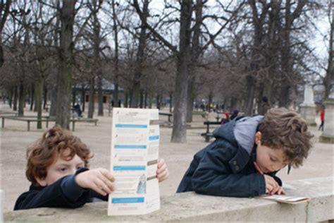 jardin du luxembourg jeu de piste enfant 224 paris