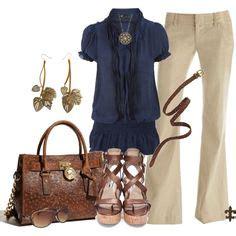 beige pants outfit ideas images clothes cute