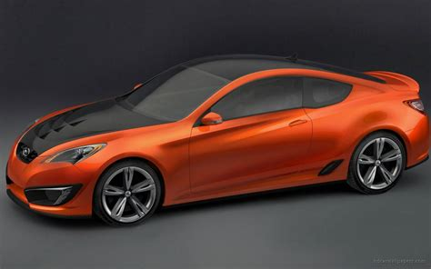 Hyundai Genesis Coupe Concept Wallpaper