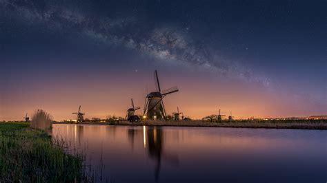 windmills  netherlands    locality