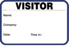 80 Labels Per Sheet Template Single Use Self Expiring Visitor Name Badges
