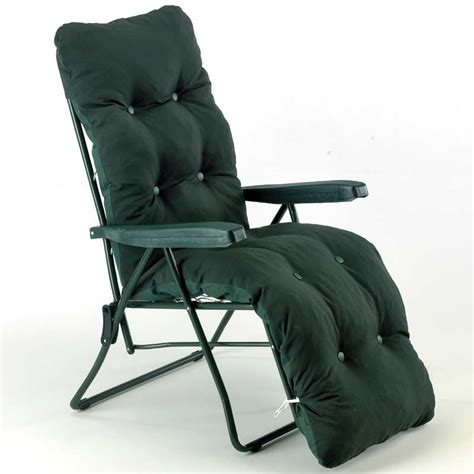 reclining garden chairs asda sun lounger relaxer green design on sale fast