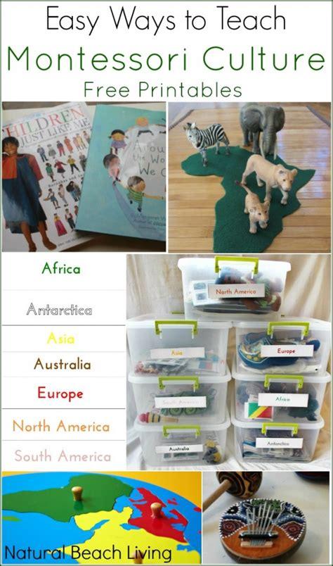 easy ways to teach montessori culture free printables 589 | montessoriculturepin2 603x1024