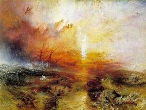 Turner, J.M.W. (1775-1851) - 1840 The Slave Ship (Museum ...