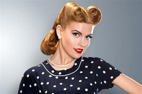 victory rolls hairstyles ideas