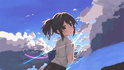 Mitsuha Miyamizu Desktop Wallpapers