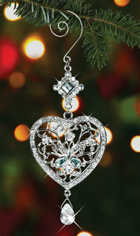 crystal christmas tree ornaments felcom