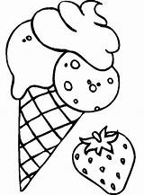 Coloring Ice Cream Strawberry Pages Drawing Mix Sheet Flavoured Clipart Cookie Adult Cookies Shortcake Cone Colouring Sheets Printable Para Banana sketch template