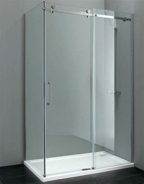 bathroom accessories ideas elite 1000mm x 900mm frameless sliding shower enclosure