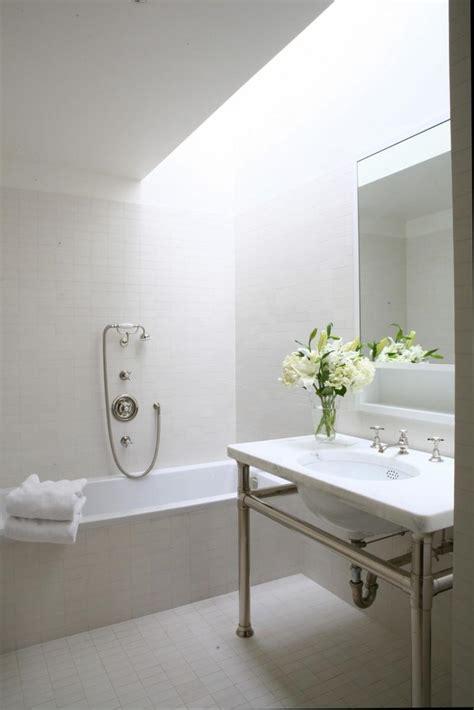 awesomely airy bathroom designs  skylight rilane