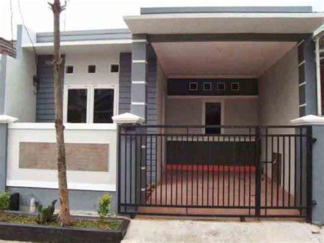 model tampak depan rumah minimalis  lantai terbaru