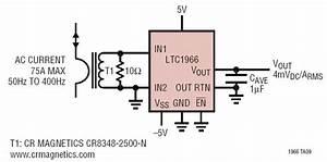Ltc1966 Ac Current Measurement Circuit Collection