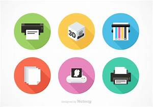 Free Printer Equipment Vector Icons - Download Free Vector ...