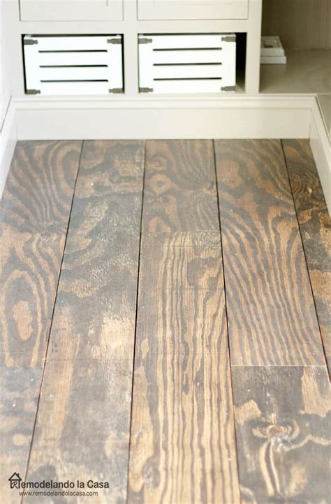 diy plywood floors   diy wood floors plywood