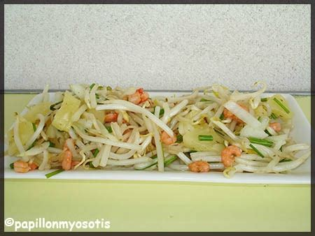 cuisiner le soja frais salade de soja frais ananas et crevettes salade