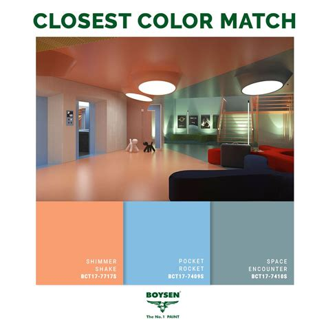 a palette of bright pastel colors saturated with light technology can expand the perception of