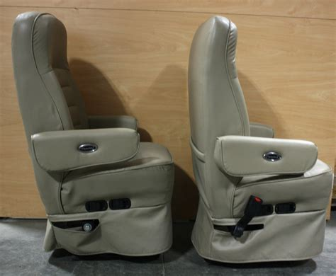 rv furniture used flexsteel ultra leather rv captain chair