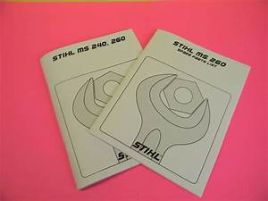 Ms240 Ms260 Repair Manual 120 Pages Ms260 Spare Parts List