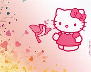 Free Desktop Wallpaper: Pink Hello Kitty Desktop Wallpapers