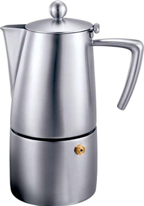 Top 3 Stainless Steel Stovetop Espresso Makers/ Moka Pots   Super Espresso.com