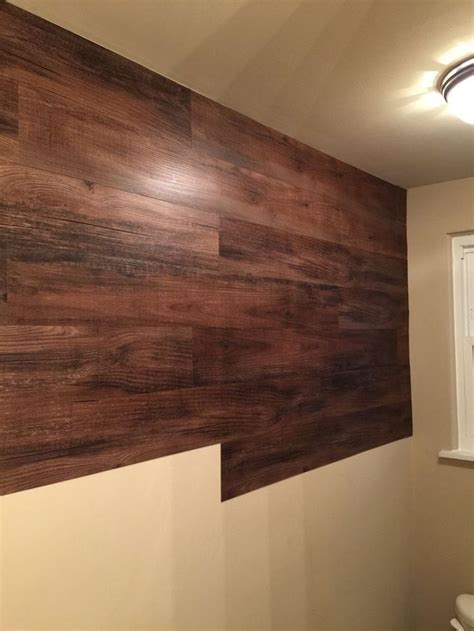 Wall Decor Idea Wood Wall by Faux Wood Wall Vinyl Planks Vinyls And The O Jays