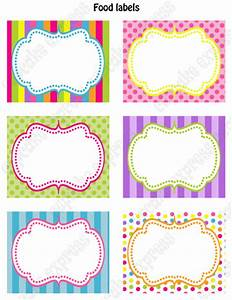 Candy shoppe printable food labels for Kitchen colors with white cabinets with papier cadeau noel