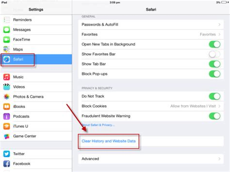 how to clear safari history on iphone how to clear browser cache on