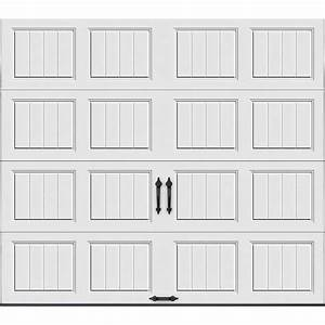 clopay gallery collection 9 ft x 7 ft 65 r value With 5 x 7 garage door