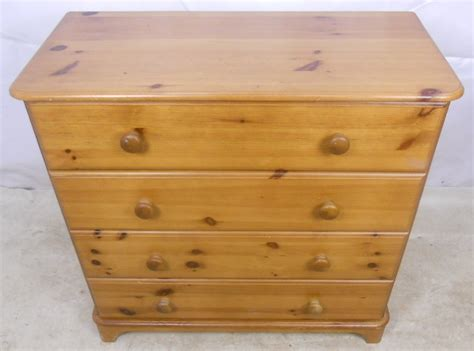 antique pine dresser style pine chest of drawers 1294