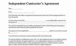 Contract Labor Invoice Template Independent Contractor Agreement Contractor Agreement