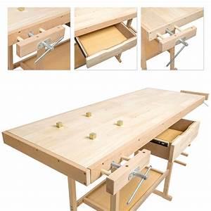 Plan Atelier Bricolage : table bois garage ~ Premium-room.com Idées de Décoration