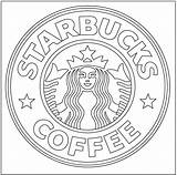 Starbucks Pages Coffee Coloring Template Adults Cute Frappuccino Cups Frapp Coffe Templates sketch template