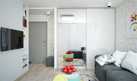Bright And Compact 1 Bedroom Apartment For Family Floor Plan Included bright and compact 1 bedroom apartment for family