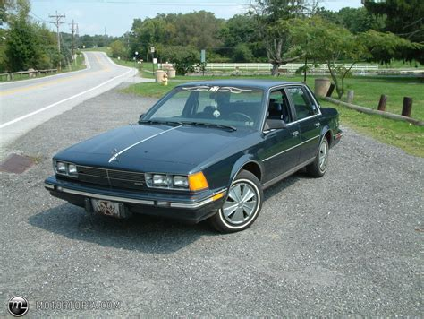 1986 Buick Century by 1986 Buick Century Information And Photos Momentcar
