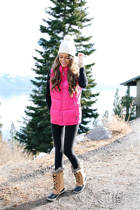 Hot Pink Puffer Vest Southern Curls And Pearls Bloglovin