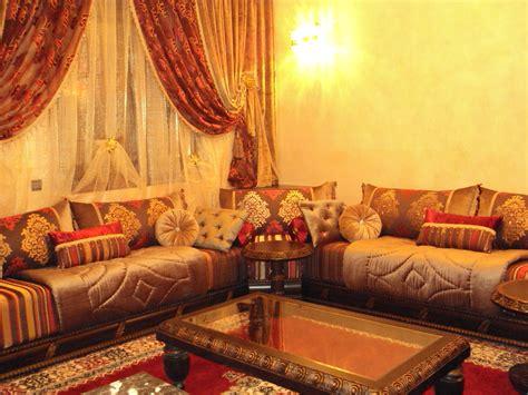 tissu au metre pour canapé tissu benchrif marocain pour salon salon marocain déco