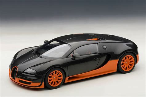 autoart bugatti veyron sport world record black