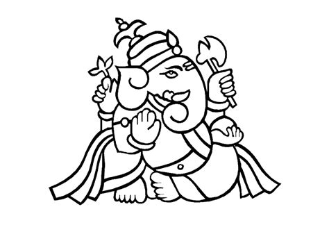 coloring wallpaper colour drawing free hd wallpapers lord ganesha coloring